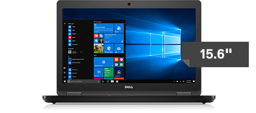 "Dell Latitude E5580 15.6"" Win 10 Pro Core i5-7300U / RAM 8GB / 256GB SSD / FHD"