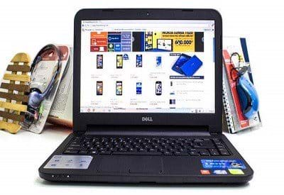 LAPTOP Dell Inspiron 3437/ CPU I5/ RAM 4G/ HDD 500G/ 14 IN