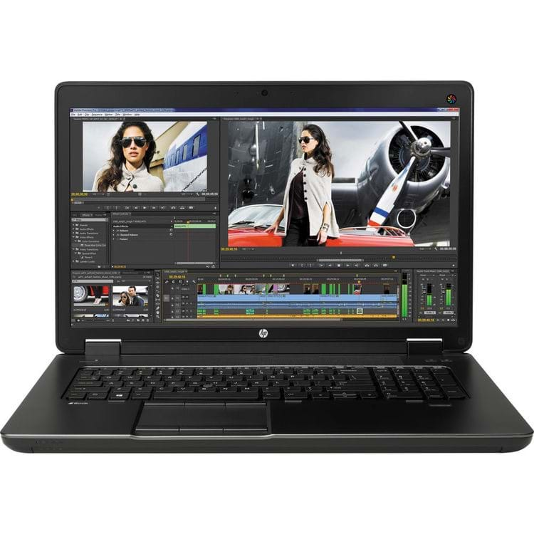 "Laptop HP ZBook 17 Core i7-4800MQ/ 8 GB RAM/ 256 GB SSD/ NVIDIA Quadro K3100M/ 17.3"" FHD"